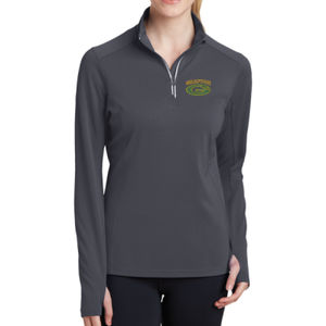 Grafton AYF - Ladies Sport Wick ® Textured 1/4 Zip Pullover Thumbnail